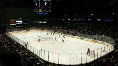 Van Andel Arena, section: 204, row: D, seat: 12