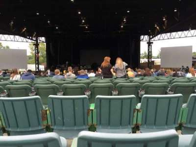 KeyBank Pavilion, section: 6, row: JJ, seat: 35
