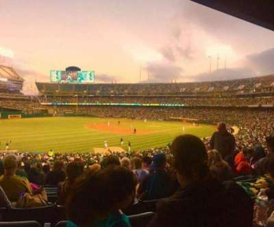 Oakland Alameda Coliseum, section: 118, row: 30, seat: 16