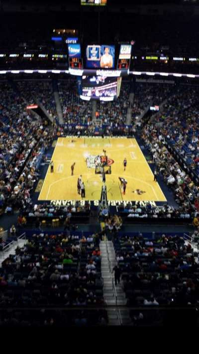 Smoothie King Center, section: 309, row: 2, seat: 2