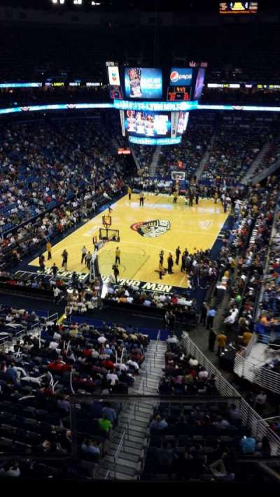 Smoothie King Center section 323