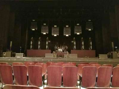 Bloomington Center For The Performing Arts, section: Main, row: C, seat: 108
