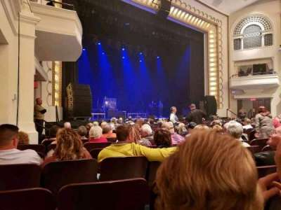 Bloomington Center For The Performing Arts, section: Main, row: K, seat: 19