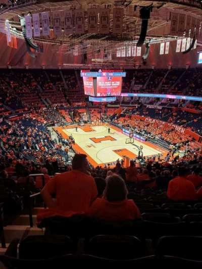 State Farm Center, section: 240, row: 15, seat: 11