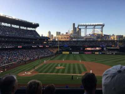 Safeco Field, section: 223, row: 4, seat: 7