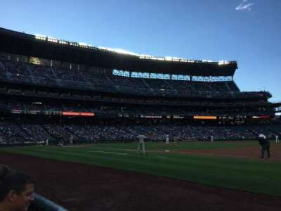Safeco Field, section: 119, row: 2, seat: 1
