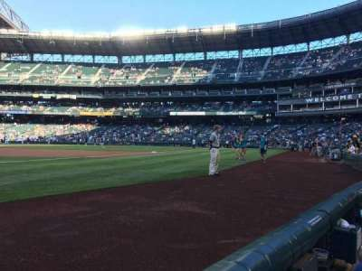 Safeco Field, section: 146, row: 1, seat: 14