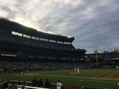 Safeco Field, section: 121, row: 10, seat: 8