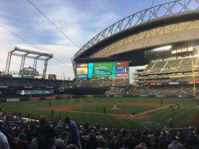Safeco Field, section: 132, row: 28, seat: 12