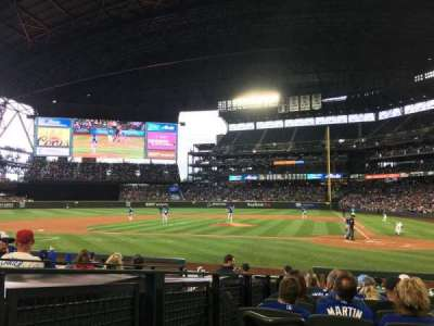 Safeco Field, section: 135, row: 12, seat: 9