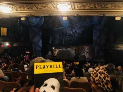 Majestic Theatre section Orchestra R