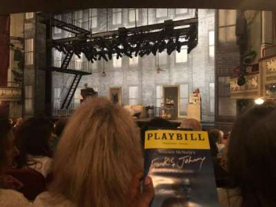 Broadhurst Theatre section Orchestra L