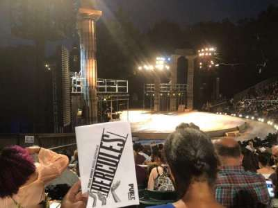 The Delacorte Theater in Central Park section O