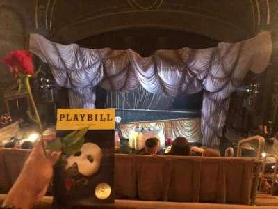 Majestic Theatre section Rear Mezzanine