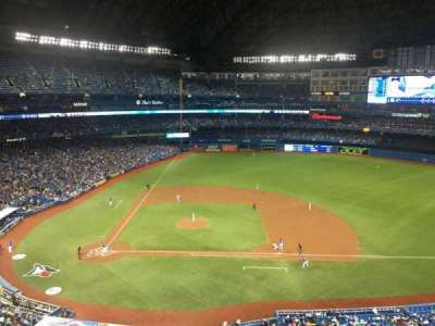 Rogers Centre, section: 519L, row: 1, seat: 102