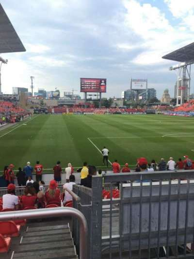 BMO Field, section: 117, row: 13, seat: 2