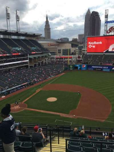 Progressive Field, section: 541, row: E, seat: 10