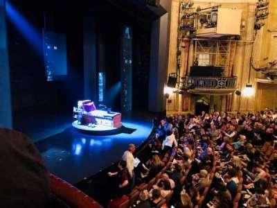 Music Box Theatre, section: Box50, row: LB, seat: 1