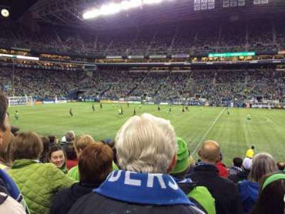 CenturyLink Field section 109
