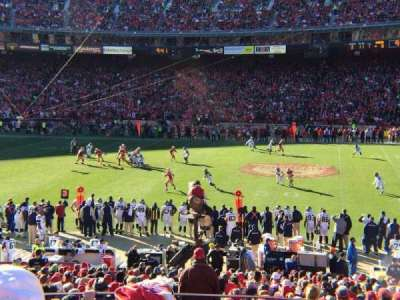 Candlestick Park section LE31