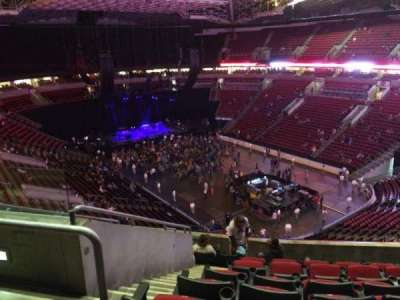 KeyArena, section: 204, row: 10, seat: 4