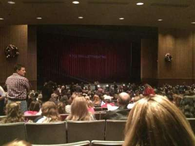 Pioneer Center For The Performing Arts, section: B, row: W, seat: 10