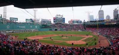 Fenway Park, section: Grandstand 23, row: 12, seat: 5