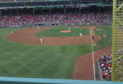 Fenway Park, section: M1, row: 3, seat: 3