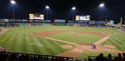 McCoy Stadium section 8
