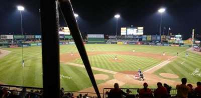 McCoy Stadium section 7