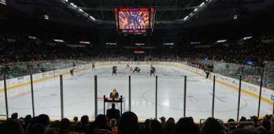 Dunkin' Donuts Center, section: 101, row: B, seat: 4
