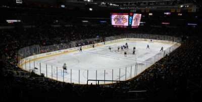 Dunkin' Donuts Center, section: 218, row: J, seat: 1