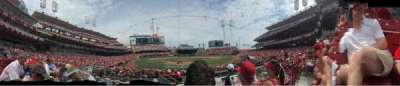 Great American Ball Park section 23