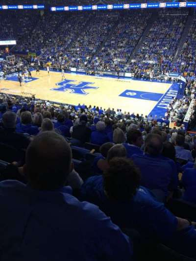 Rupp Arena, section: 12, row: U, seat: 2