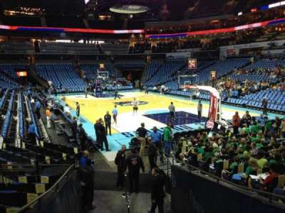 Spectrum Center, section: 102, row: M, seat: 6