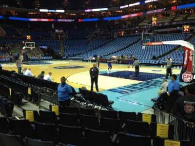 Spectrum Center, section: 112, row: E, seat: 4