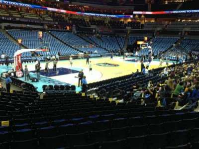 Spectrum Center, section: 116, row: N, seat: 19