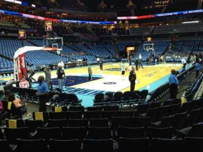 Spectrum Center, section: 116, row: F, seat: 18