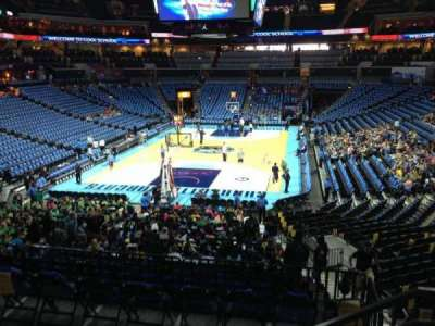 Spectrum Center, section: 117, row: W, seat: 2
