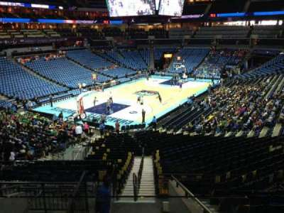 Spectrum Center, section: 116, row: AA, seat: 35