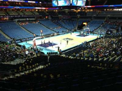 Spectrum Center, section: 116, row: AA, seat: 22