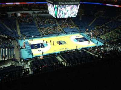 Spectrum Center, section: 210, row: H, seat: 12