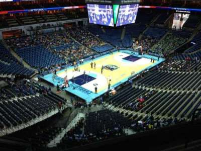 Spectrum Center, section: 213, row: D, seat: 2