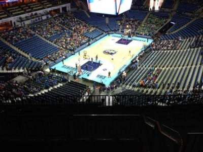 Spectrum Center, section: 214, row: J, seat: 11
