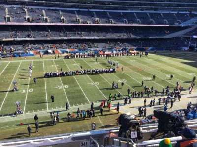 Soldier Field, section: 341, row: 7, seat: 17