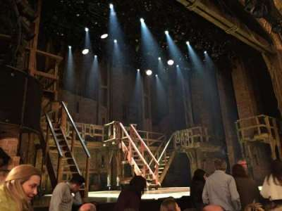 Richard Rodgers Theatre, section: Orchestra Left, row: E, seat: 13
