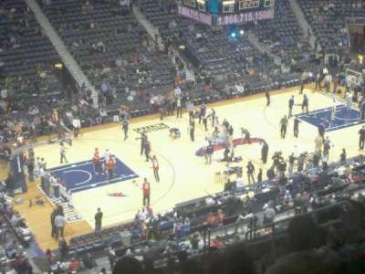 Philips Arena, section: 313, row: n, seat: 12