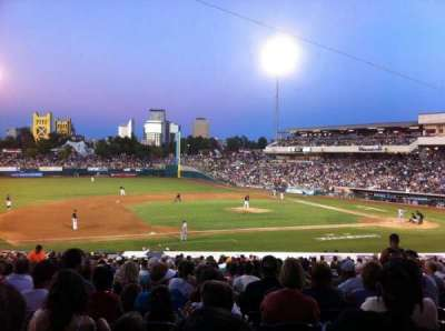Raley Field, section: 119, row: 20
