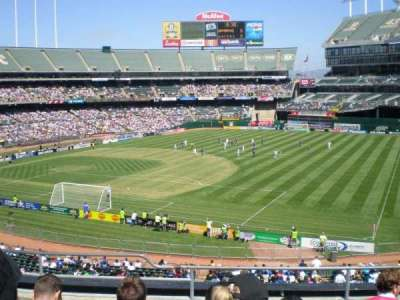 Oakland Alameda Coliseum, section: 208, row: 6
