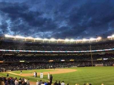 Yankee Stadium, section: 110, row: 14, seat: 2